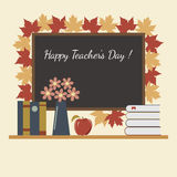 Holiday Teachers Day in the Classroom Royalty Free Stock Images