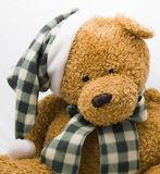 Holiday Teddy Bear Royalty Free Stock Photos