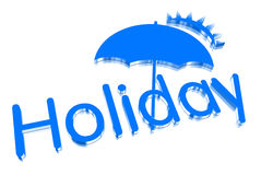 Holiday 3D Royalty Free Stock Image