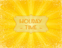 Holiday Time Royalty Free Stock Photo