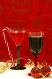 A Holiday Toast Stock Photography