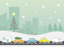 Holiday traffic Stock Photos