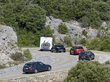 Holiday, traffic in europe. France Royalty Free Stock Photography