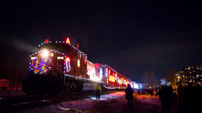 Holiday Train Royalty Free Stock Images