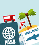 Holiday travel Stock Image