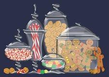 Holiday Treats stock photography