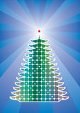 Holiday tree Stock Photography
