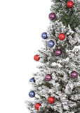 Holiday Tree. Christmas tree abstract on white background Stock Photo
