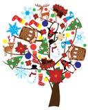 Holiday tree Stock Photos