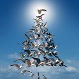 Holiday Tree Of Hope Royalty Free Stock Image