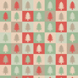 Holiday tree illustration Royalty Free Stock Photography