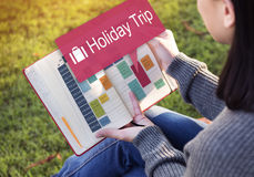 Holiday Trip Vacation Traveling Adventure Concept Royalty Free Stock Images
