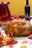 Holiday turkey Stock Photography