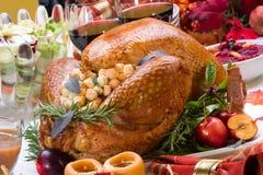 Holiday turkey Stock Photography