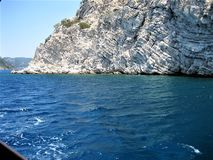 Holiday in Turkey. Sea , Nature Royalty Free Stock Images