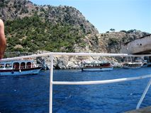 Holiday in Turkey. Sea , Nature royalty free stock photography