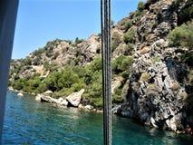 Holiday in Turkey. Sea , Nature Royalty Free Stock Photo