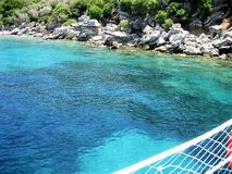 Holiday in Turkey. Sea , Nature royalty free stock photos