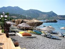 Holiday in Turkey. Sea , Nature Stock Image