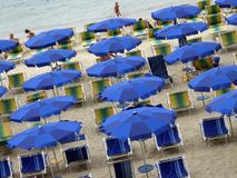 Holiday umbrellas Stock Photography