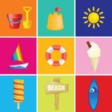 Holiday vacation illustration Royalty Free Stock Photos