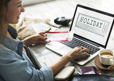 Holiday Vacation Travelling Destination Tourism Concept Stock Image