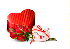 Holiday Valentine`s day background. Stock Photography