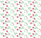 Holiday valentine vector illustration. Holiday valentine seamless pattern  illustration Royalty Free Stock Image