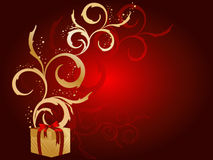 Holiday vector background Stock Image