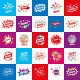 Holiday vector logo Stock Images