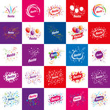 Holiday vector logo Royalty Free Stock Images