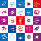 Holiday vector logo Royalty Free Stock Photography