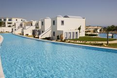 Holiday villa Stock Images