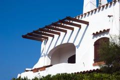 Holiday villa Stock Image