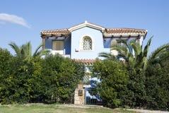 Holiday villa. A holiday villa - Sardinia - Italy Royalty Free Stock Image