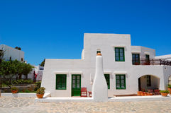 Holiday villa at the luxury hotel. Crete, Greece Stock Photography