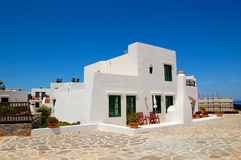 Holiday villa at the luxury hotel. Crete, Greece Stock Photos