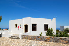 Holiday villa at the luxury hotel. Crete, Greece Royalty Free Stock Image