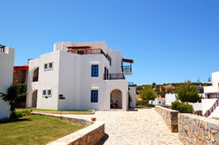 Holiday villa at the luxury hotel. Crete, Greece Stock Images