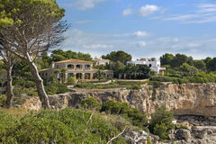 Holiday villa in Majorca Stock Photography