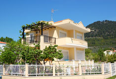 The holiday villa for rent Royalty Free Stock Images