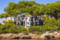 Holiday villas Royalty Free Stock Photo