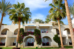 The holiday villas at luxury hotel. Sharm el Sheikh, Egypt Stock Image