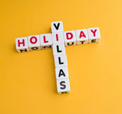 Holiday villas Royalty Free Stock Image