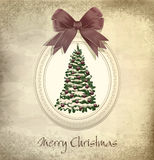 Holiday, vintage, grungy background Stock Image