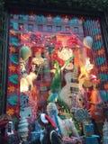 Holiday Window Displays at Bergdorf Goodman in New York Royalty Free Stock Photo