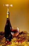 Holiday Wine Stock Photo