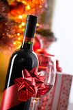 Holiday wine tasting party Royalty Free Stock Photos