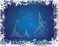 Holiday Winter Background Stock Image