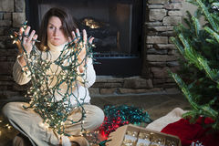 Holiday woes Stock Photos